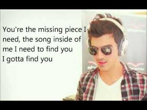 Gotta Find You Joe Jonas (Lyrics on screen)