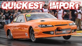 2000HP Nissan S15 Quickest Drag Radial Import on the Planet! (Fastest TX2K Pass EVER) by  That Racing Channel