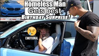 Video HOMELESS man gets BEST birthday GIFT! MP3, 3GP, MP4, WEBM, AVI, FLV Juni 2019
