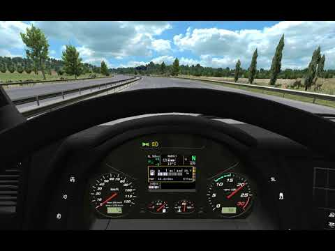 Iveco XP dashboard and interior for Hi-Way by Piva
