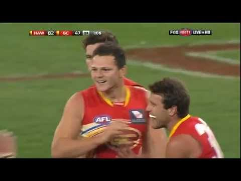 Afl Round 21 Match Highlights - Hawks V Suns