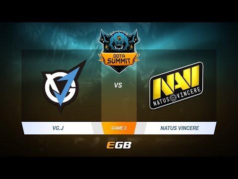 VG.J vs Natus Vincere, Game 2, DOTA Summit 7 LAN-Final, Day 2