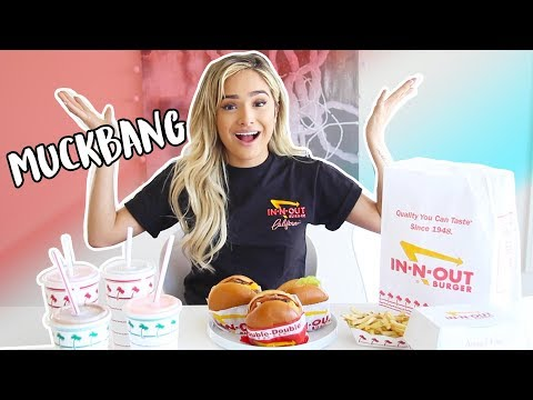 In-N-Out Mukbang | I SPILL THE TEA