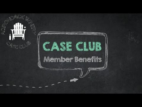 Adirondack Winery Case Club Benefits Video 2017