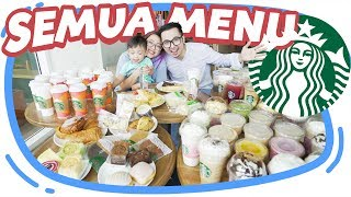 Video BELI SEMUA MENU DI STARBUCKS! #BORONG MP3, 3GP, MP4, WEBM, AVI, FLV April 2019