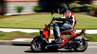 9. 2009 Honda Ruckus Scooter First Ride - MotoUSA