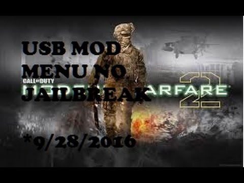 Mw2 1.14 Usb Mod Menu Infection NO JAILBREAK (Tutorial)