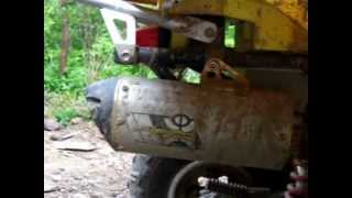 4. 2009 Suzuki Quadsport z250 Start-Up and Review