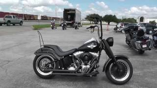 4. 017805 - 2010 Harley Davidson Softail Fat Boy Lo  - Used motorcycles for sale