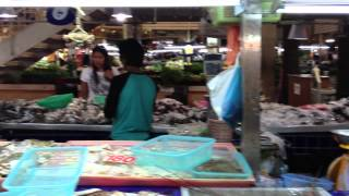 Wet Markets In Phuket, Thailand