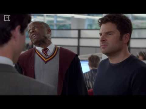 Psych intro in Monk style season 8