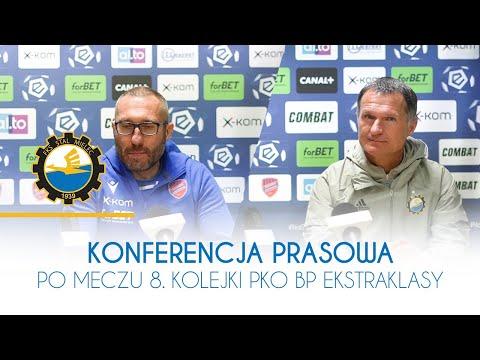 TV Stal: Konferencja prasowa po meczu 8. kolejki PKO BP Ekstraklasy
