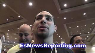 danny garcia on mayweather win talks fighting pacquiao - EsNews boxing