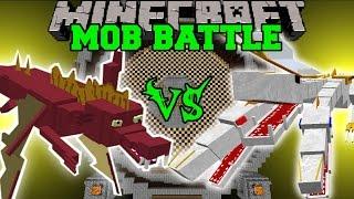 GARBLE VS THE KING - Minecraft Mob Battles - Minecraft Mods