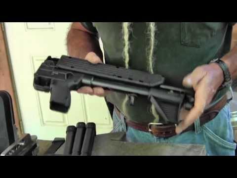 Shooting - FOR MORE INFO: http://www.gunblast.com/Kel-Tec_Sub2000.htm Jeff Quinn ( http://www.gunblast.com ) tests the Kel-Tec SUB 2000 9mm Semi-Auto Carbine. http://ww...