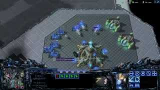 Starcraft 2 Heart Of The Swarm - 3v3 Ranked Ladder Match - Protoss Zerg Terran HD Gameplay Video How To Computing.