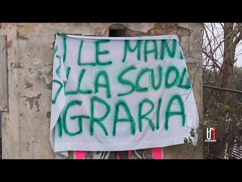 IN SCENA LA PROTESTA DELL'ISTITUTO AGRARIO DI CERIGNOLA