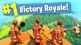 Video WE FINALLY GOT IT TO WORK! Fortnite Battle Royale (Funny Moments) MP3, 3GP, MP4, WEBM, AVI, FLV Maret 2018