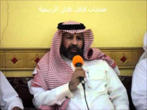 الشاعر / عبدالرحمن بن زنعاف العلياني