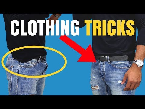 8 Clothing Tricks Most Guys Don't Know