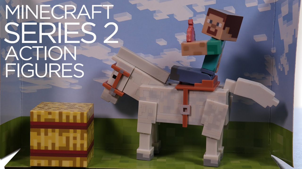 MINECRAFT Series 2 Overworld Articulated Action Figures