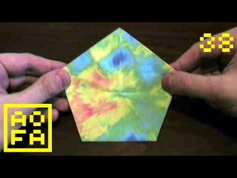 Tip 50-02 - How to make an Origami Pentagon