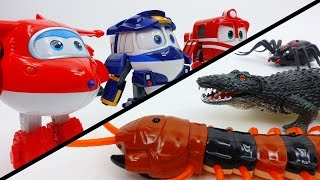 Video Toys Vs. Toys~! Go Robot Train, Go Super Wings MP3, 3GP, MP4, WEBM, AVI, FLV Juli 2018