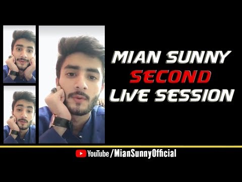 My Second Live Session || Girls Talking About My Relationship || Mian Sunny Official