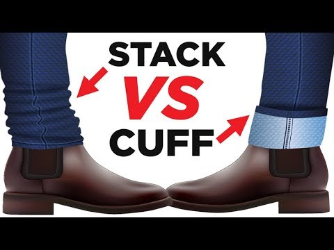 Stacking Vs Rolling Vs Cuffing Jeans | How To CORRECTLY Pull Off Denim Style