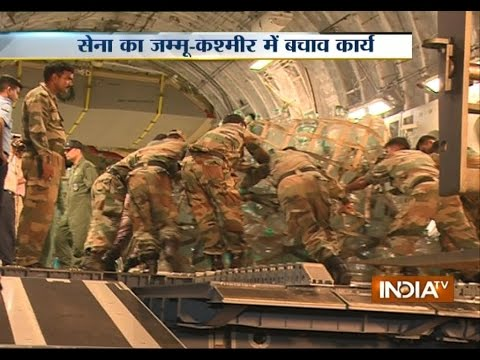 Globemaster Aircraft introduced to help flood hit Jammu