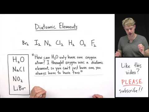 Super Common Mistake: Diatomic Elements