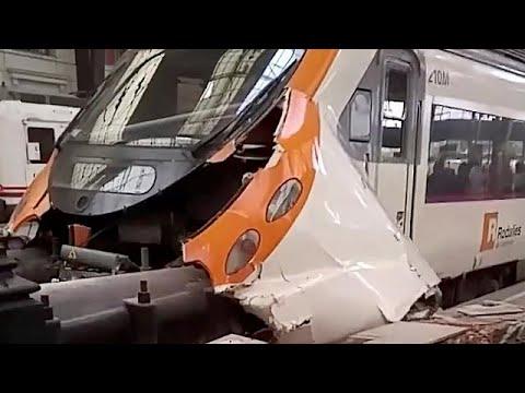 Βαρκελώνη: 48 τραυματίες μετά από ατύχημα σε σταθμό τρένου