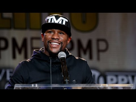 LIVESTREAM: Floyd Mayweather Vs. Andre Berto Kickoff Press Conference (Video)