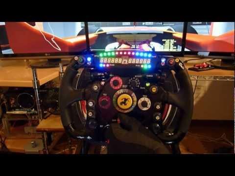 Thrustmaster T500RS Ferrari F1 Wheel Add-On Modify