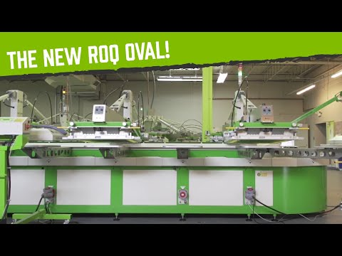 Introducing the ROQ Oval: the Ultimate Automatic Screen Printing Machine