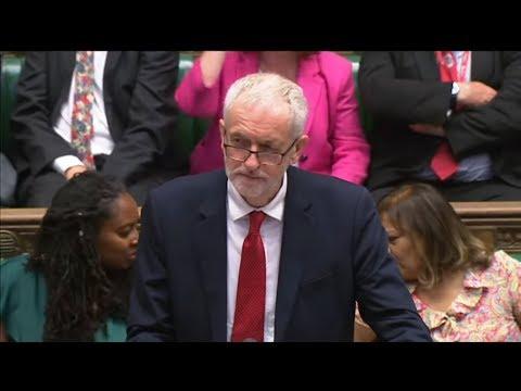 Großbritannien: Labour-Chef Corbyn will No-Deal-Brexit mit Johnson-Sturz verhindern