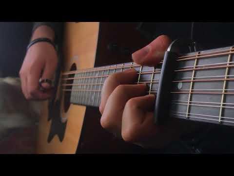 Game of Thrones – tunnari 12-kielisellä kitaralla soitettuna