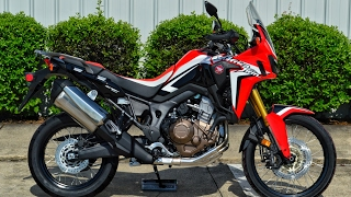 2. 2017 Honda Africa Twin Review of Specs | CRF1000L Adventure Motorcycle - CRF 1000 cc