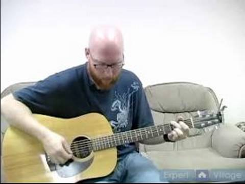 "How To Play Acoustic Guitar Songs : How To Play ""Round Here"" On Acoustic Guitar"