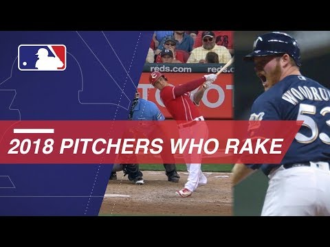 Video: Pitchers Who Rake: Home Runs by Pitchers in 2018