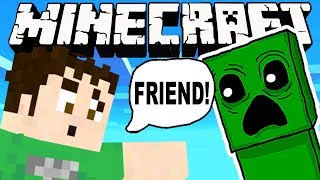 MINECRAFT  - FRIENDLY CREEPERS! Nostalgia Overload