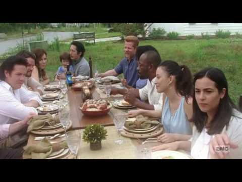 The Walking Dead - S07E01 - Ending scene (with titles).