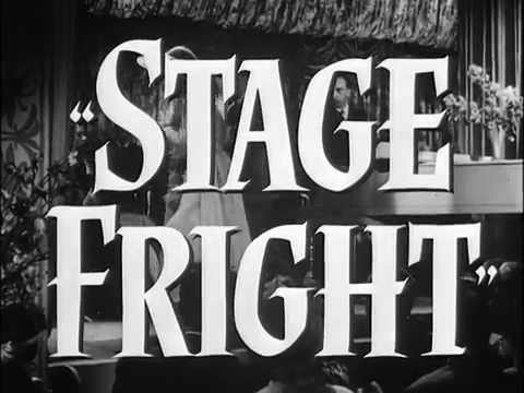 Stage Fright. Hitchcock's 1950 Masterpiece. Trailer.