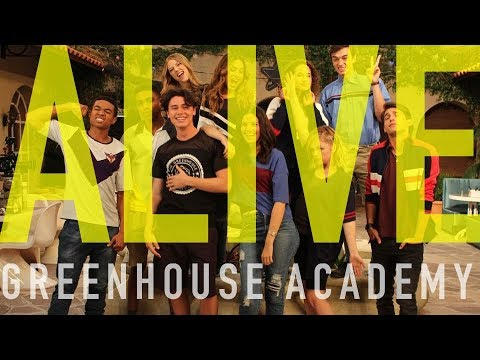 ALIVE 🎸 (by TYRS) Greenhouse Academy | Official Lyrics Video