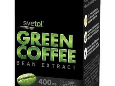 Check SVETOL Green Coffee Bean Extract, 90 Liquid Softgels with 400mg of Clinically-Pr Deal