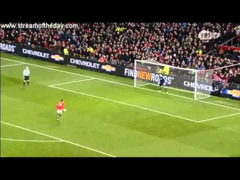 Manchester United Vs Sunderland PENALTIES | 2-1 Capital One Cup 22/01/14