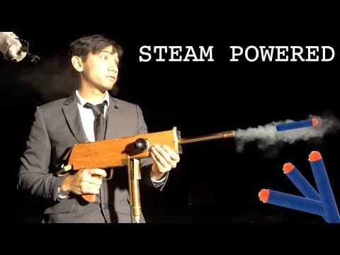 Steam Powered! Nerf GUN