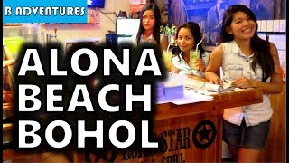 Panglao Island Philippines  city images : Alona Beach Dinner, Panglao Bohol, Philippines S3, Travel Vlog #80
