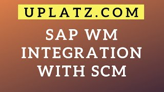 Introduction | SCM & SAP WM | Supply Chain Management and SAP Warehouse Management Tutorial Training