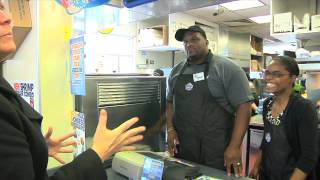 Former Chicago Bears Anthony Adams Tries Out For White Castle